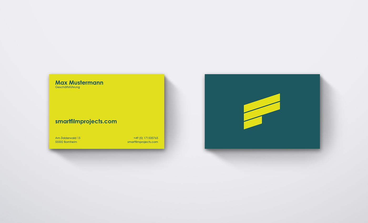 Justus Jäger Visitenkarten Design